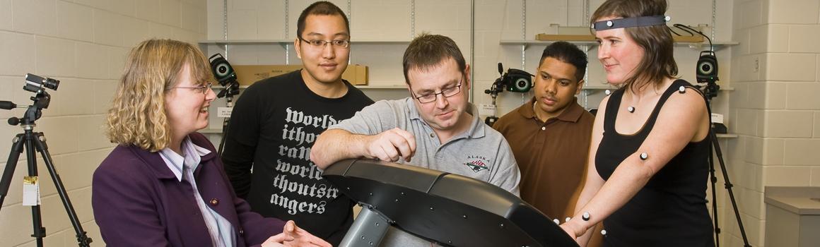 Biomechanics Lab with Will Gage
